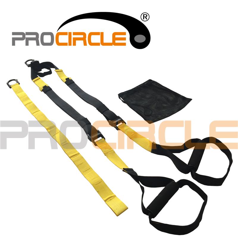 Exercise Straps Fitness Flexible Suspension Trainer Set (PC-ST2001)