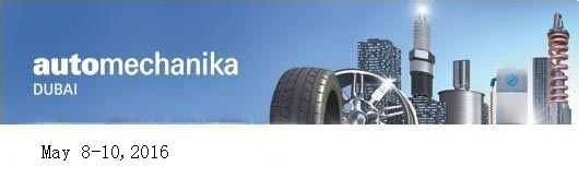 We would attend Automechanika Dubai Show in 2016