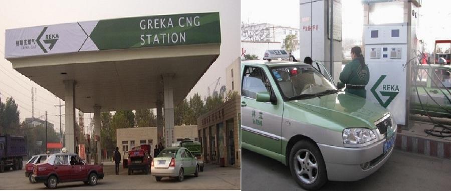 Greka CNG Station