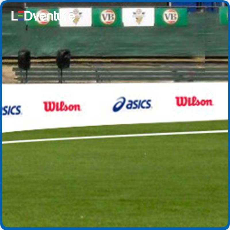 Stadium Perimeter led display screen for sports rental world cup