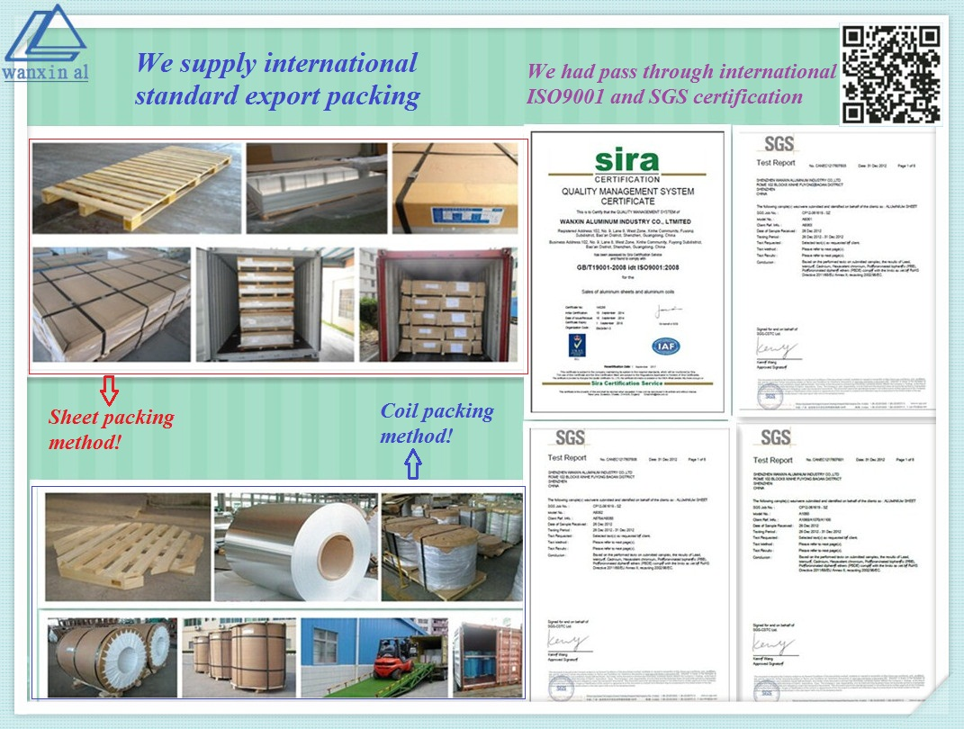 ISO9001/SGS certificate approved and Packing method