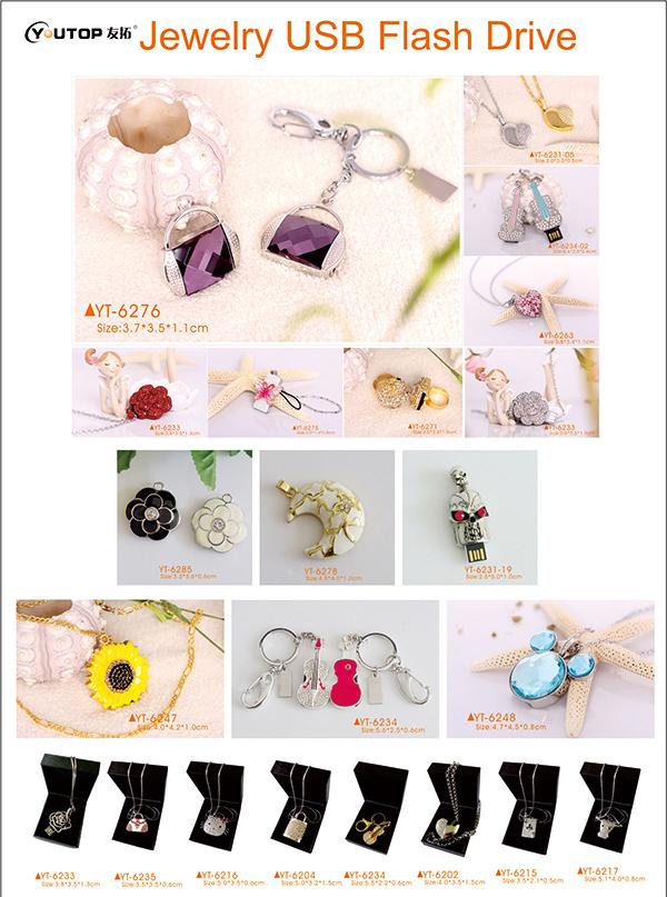 Jewelry USB Flash Drive 1