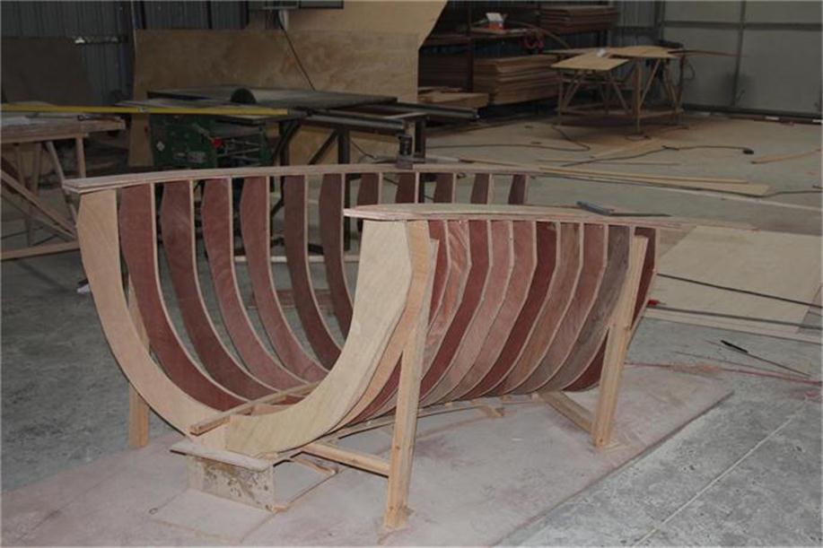 Wood moulding- water slide