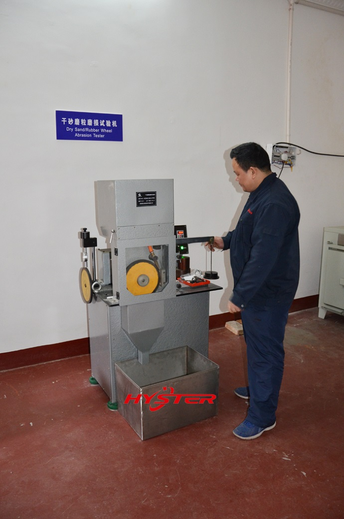 Dry Sand/Rubber Wheel Abrasion Tester G65