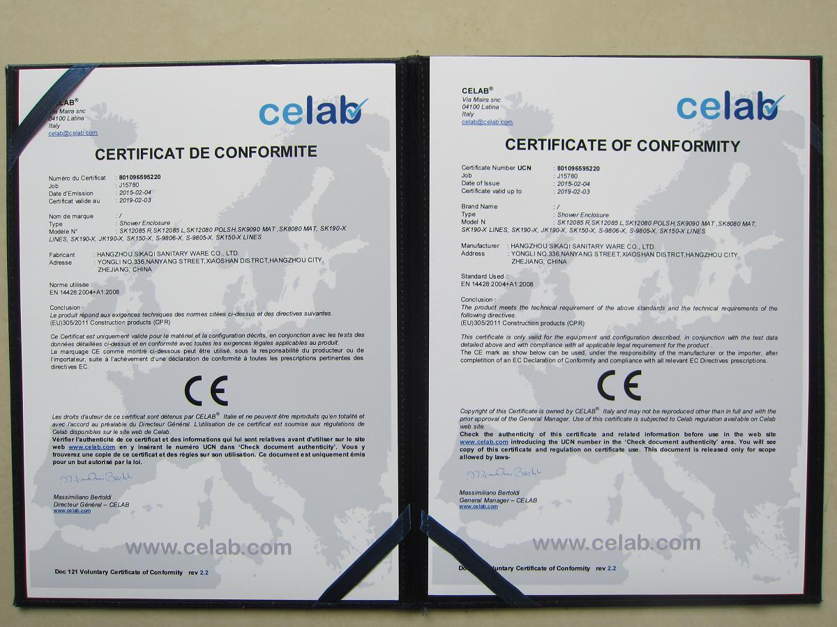 CE EN14428