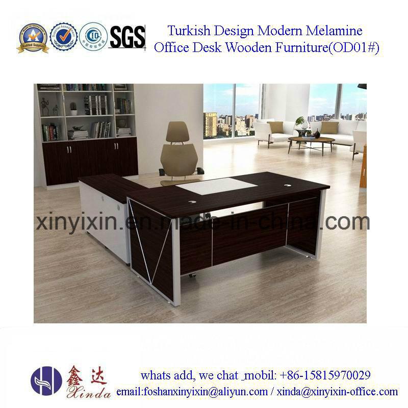 Modern Turkish Design Office Furniture Manager Table