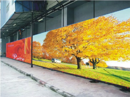 LED Outdoor Display Aging
