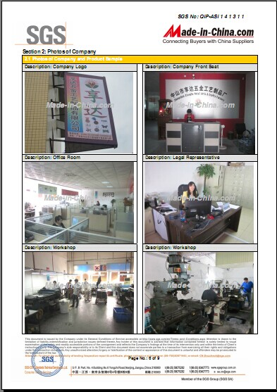Overview of Our Factory