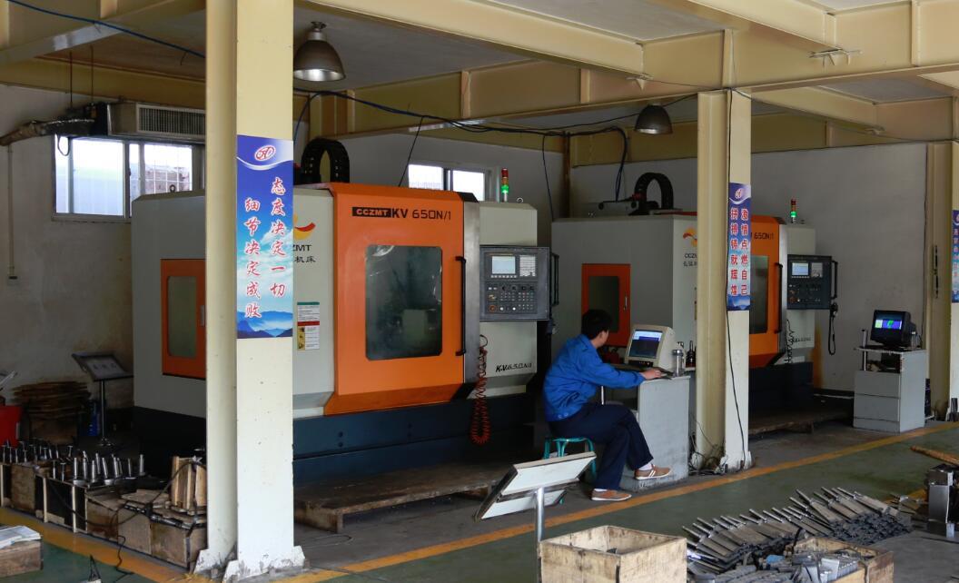 Four-axis CNC machine tool