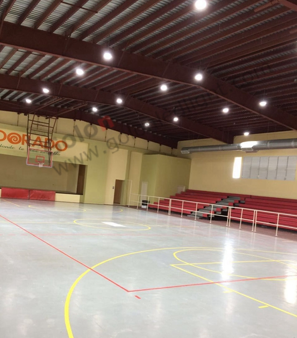 150W UFO LED high bay light 5000K for indoor basketball sport courts