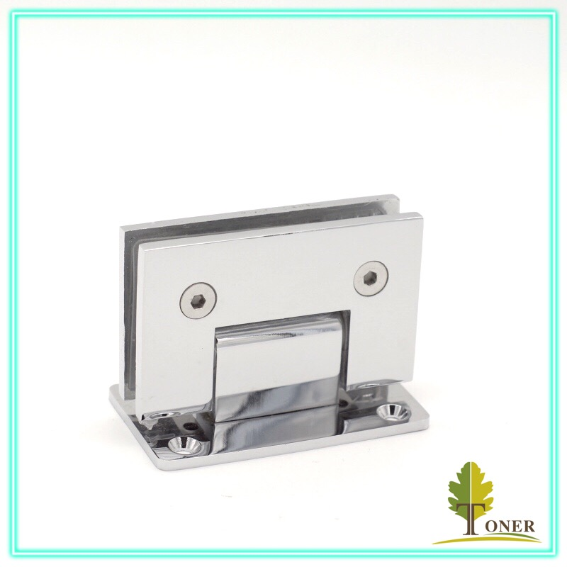 90 degree glass door hinge/ shower door hinge