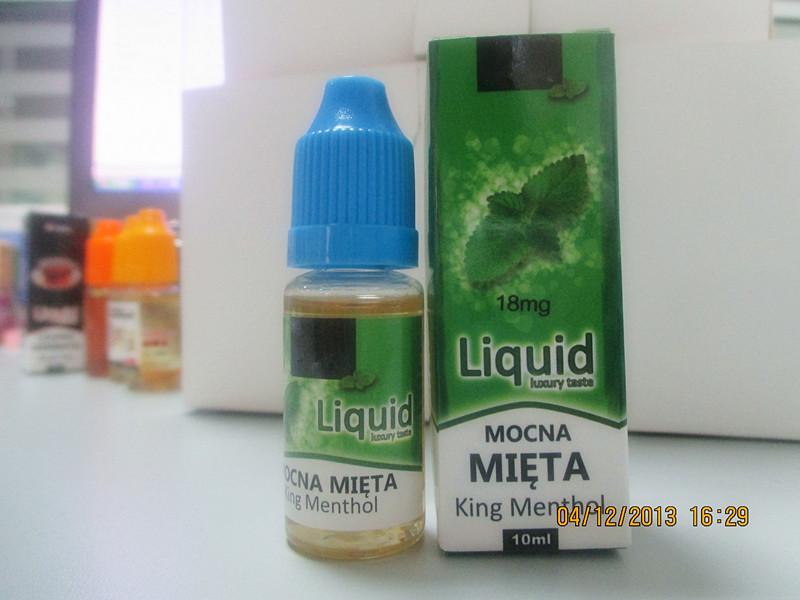 Hot selling mint flavor OEM e liquid
