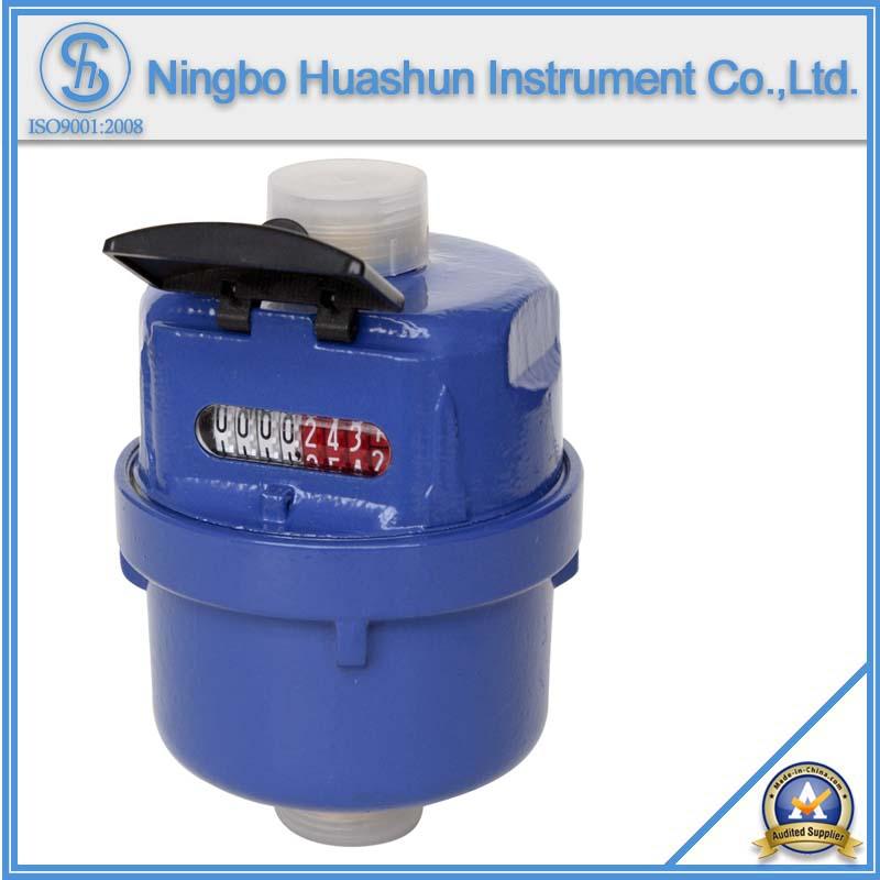 Volumetric Wet Type Brass Body ISO4064 Water Meter