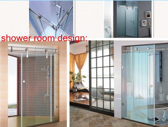 sliding door fitting in shower room