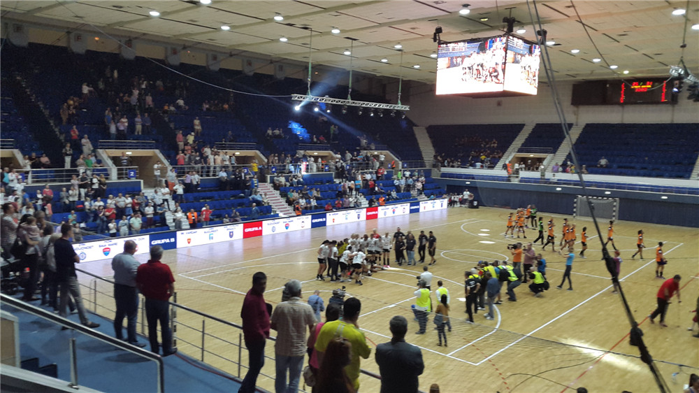 270W LED Industrial Lights for Romania Basketball Court