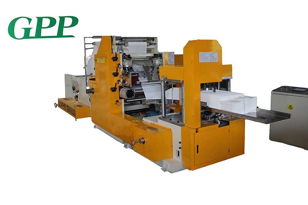 Automatic Embossing Lunch Napkin Folding Machine