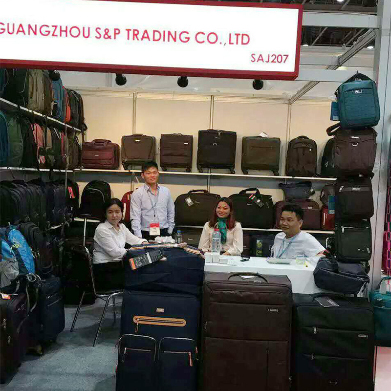 China trade show in Dubai 2016-chubont luggage factory