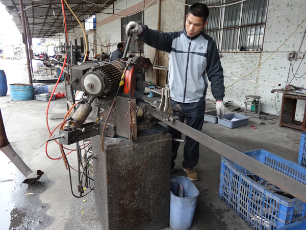 Production process - cutting