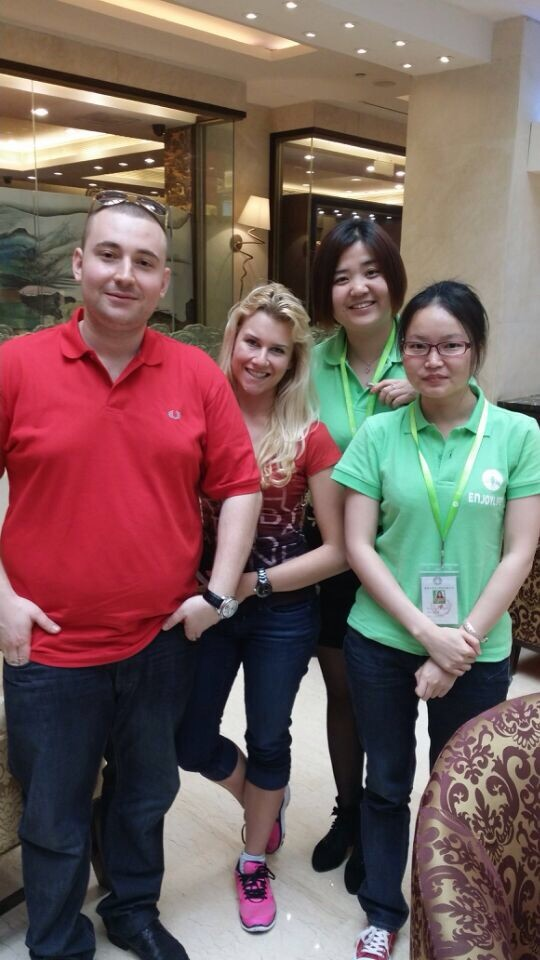 our elqiuid customer in shenzhen luo hu area