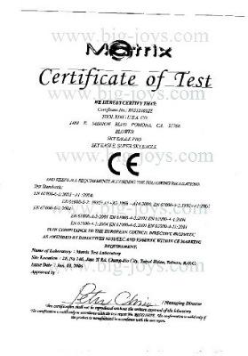 Blower CE certificate