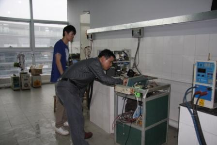 repair and testing room