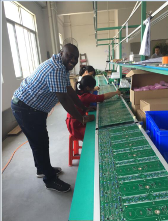 burkina faso customer cooperation with TANFON