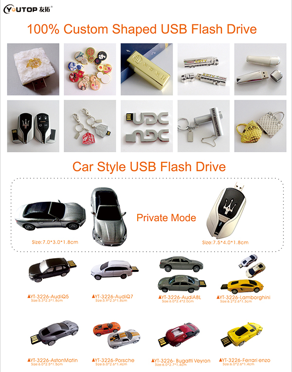 Custom & Car USB Flash Drive