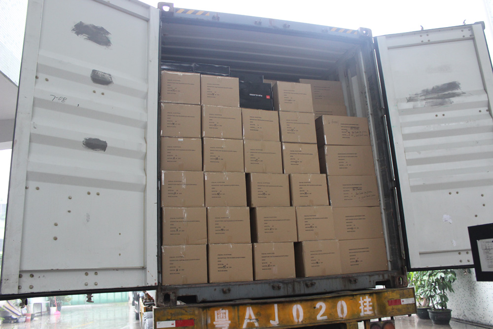 Double-wall cartons with cell dividers