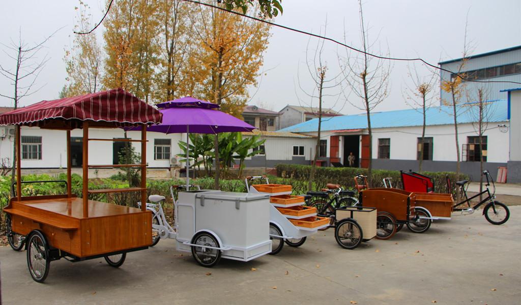 Cargo bike factory show