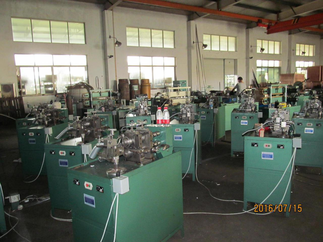 flexible metal conduit machine with cotton yarn thread