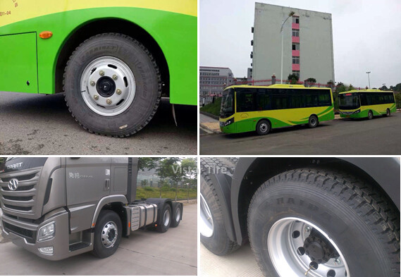 Our Tires Used on City Buses & Trucks