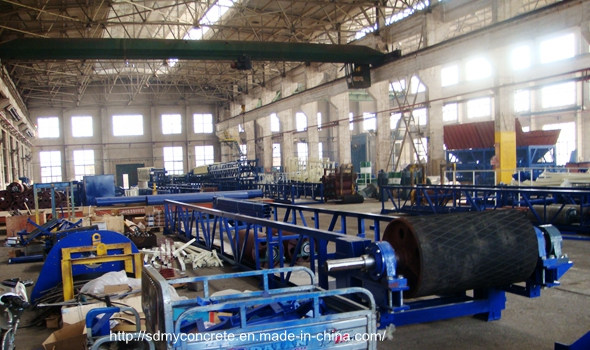 Aggregate Weighing System Concrete Batching Machine workshop