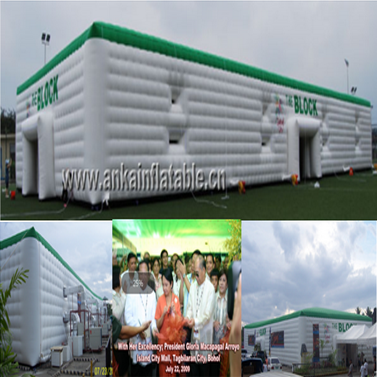 Success Stories - Anka huge tent for government