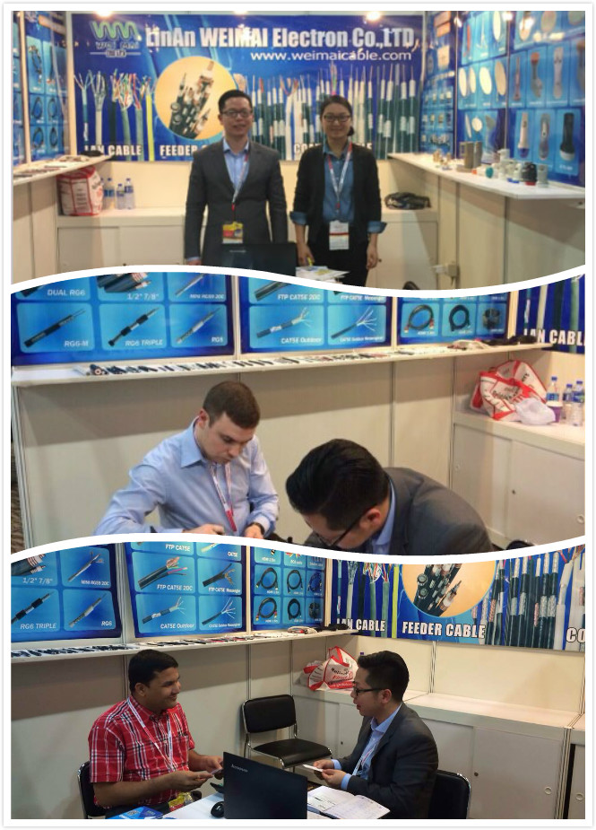 April 11-14th 2015 Hongkong Globalsources Fair Coaxial Cable China manufacturer
