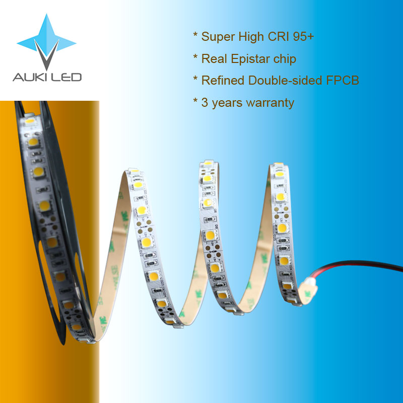 New type extra-high CRI 95+ SMD5050 LED strip