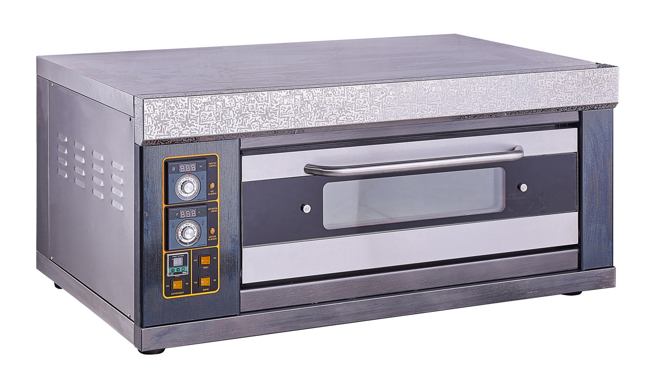 High Quality New Type Color Steel Electric Pizza Oven for Bakery