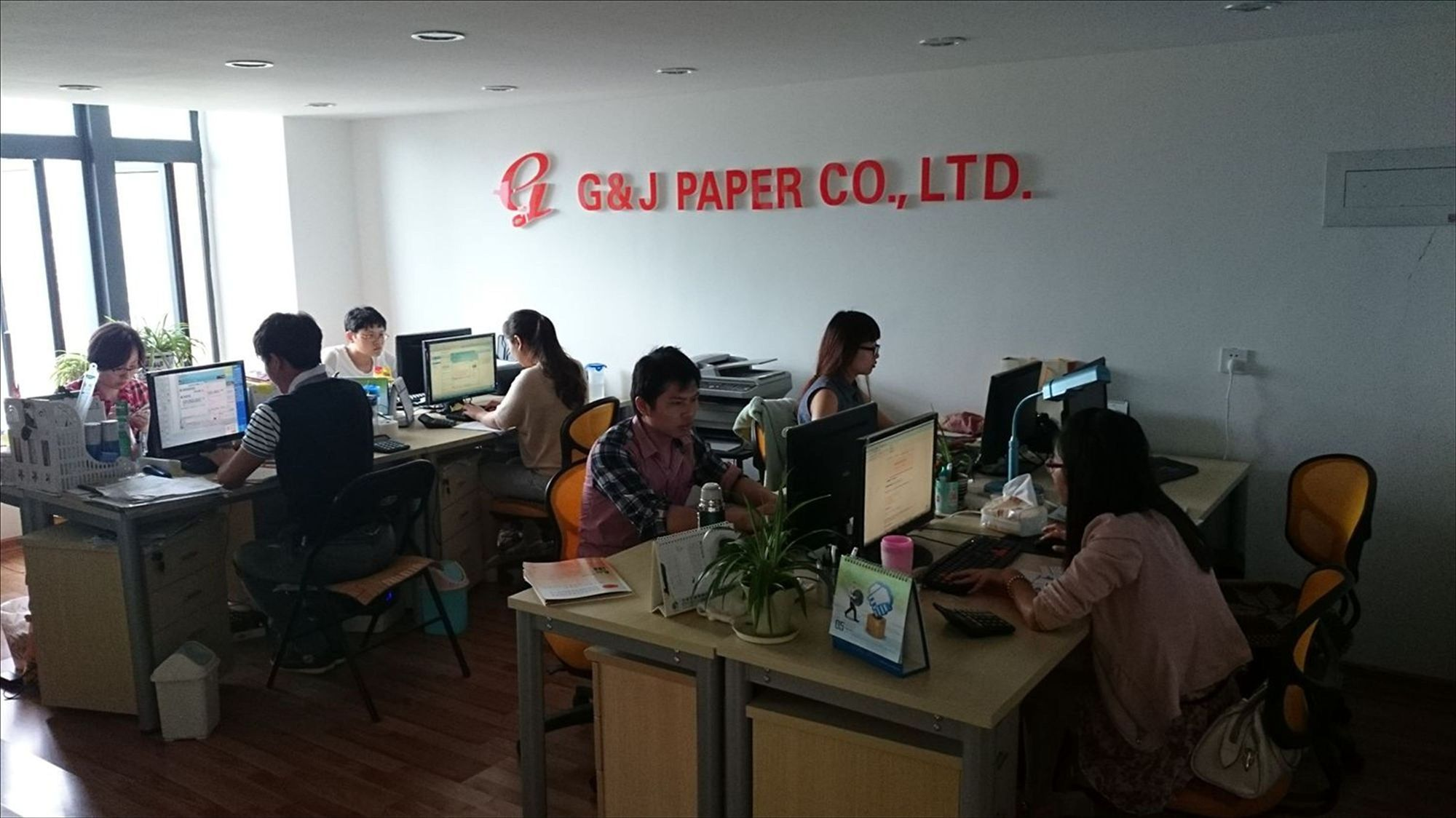Office show of G&J PAPER