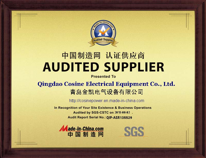 SGS approved Certificated