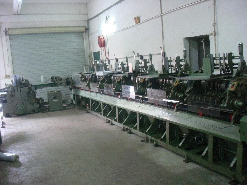 Automatic Saddle Stiching Machine