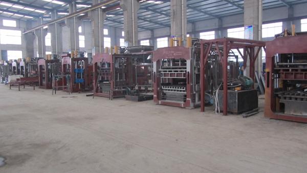 QT10-15 series fully automatic block making machine