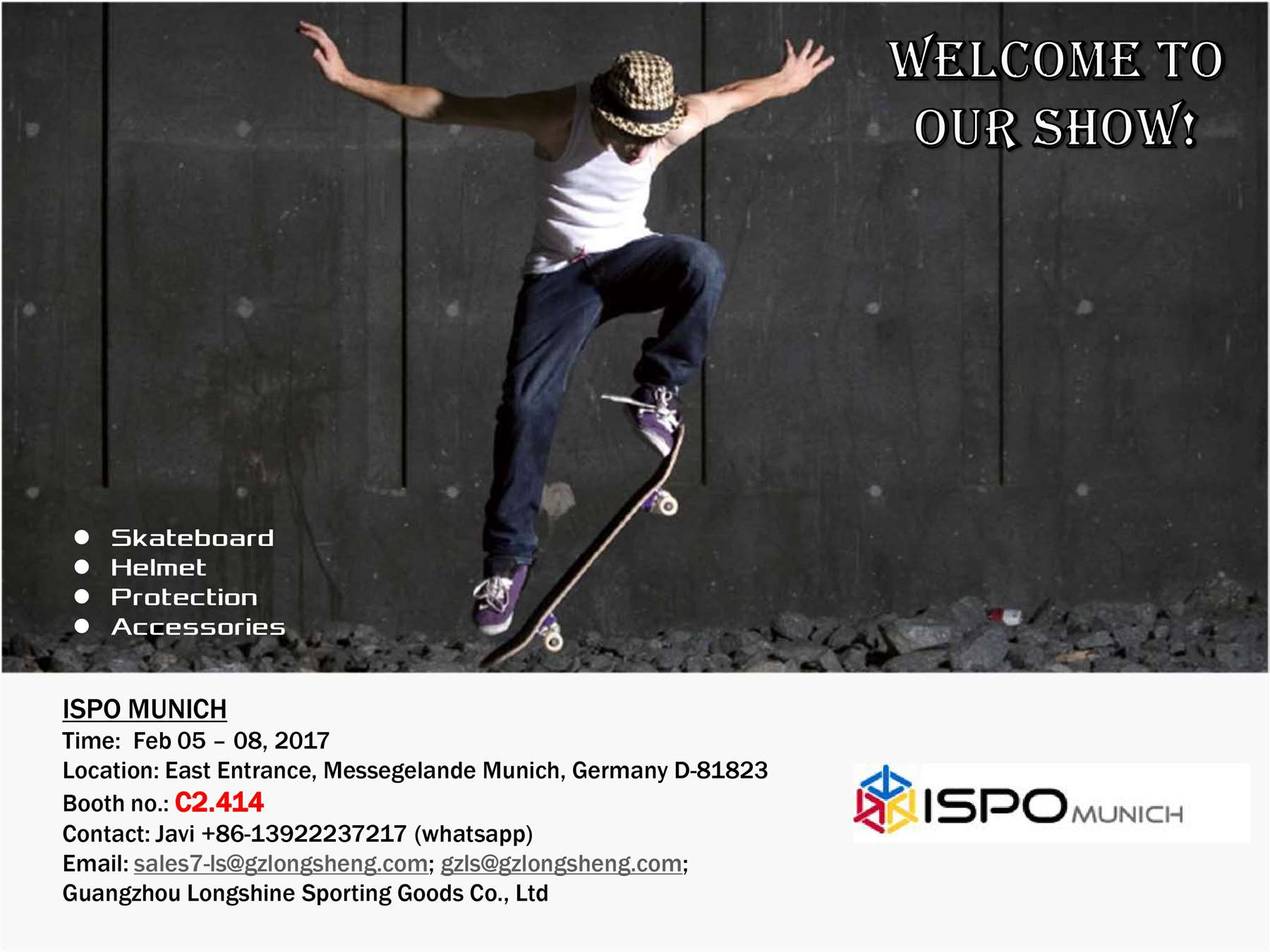 ISPO Munich 2017 Feb 05-08