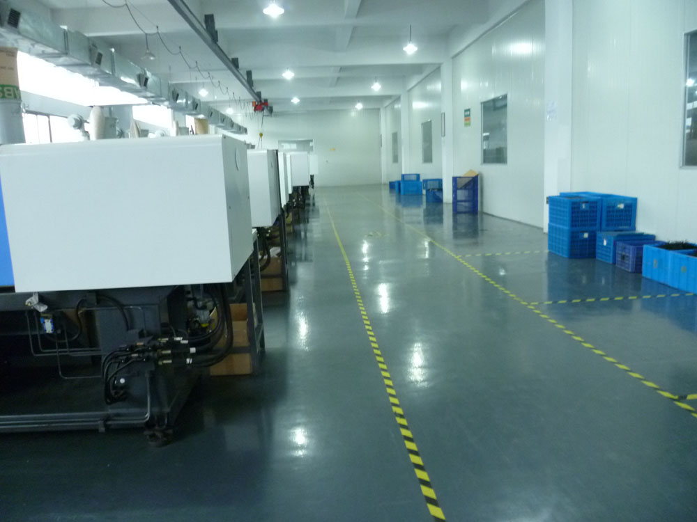 plastic factory workshop