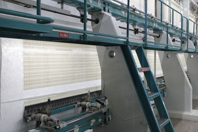 water solution lace machine