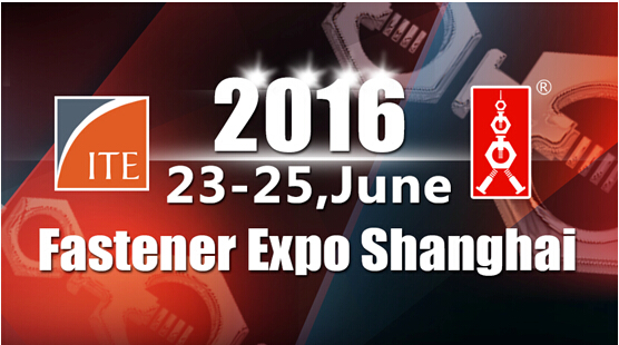 FASTENER EXPO SHANGHAI 23-25,JUN 2016