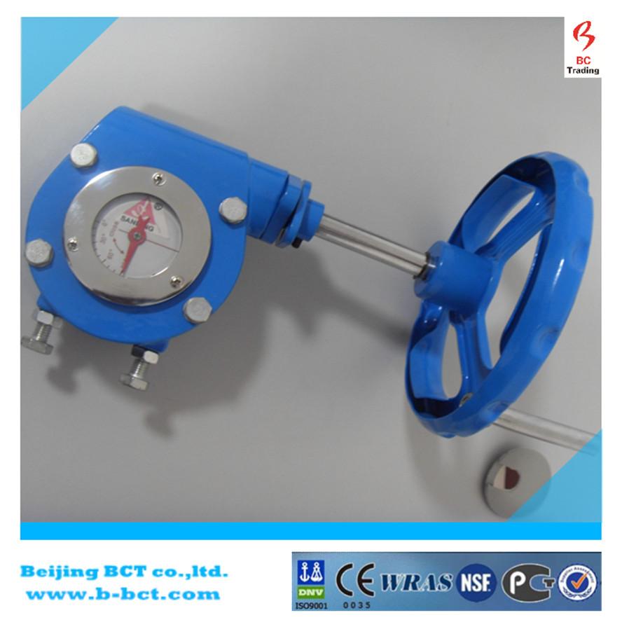 Gear worm actuator