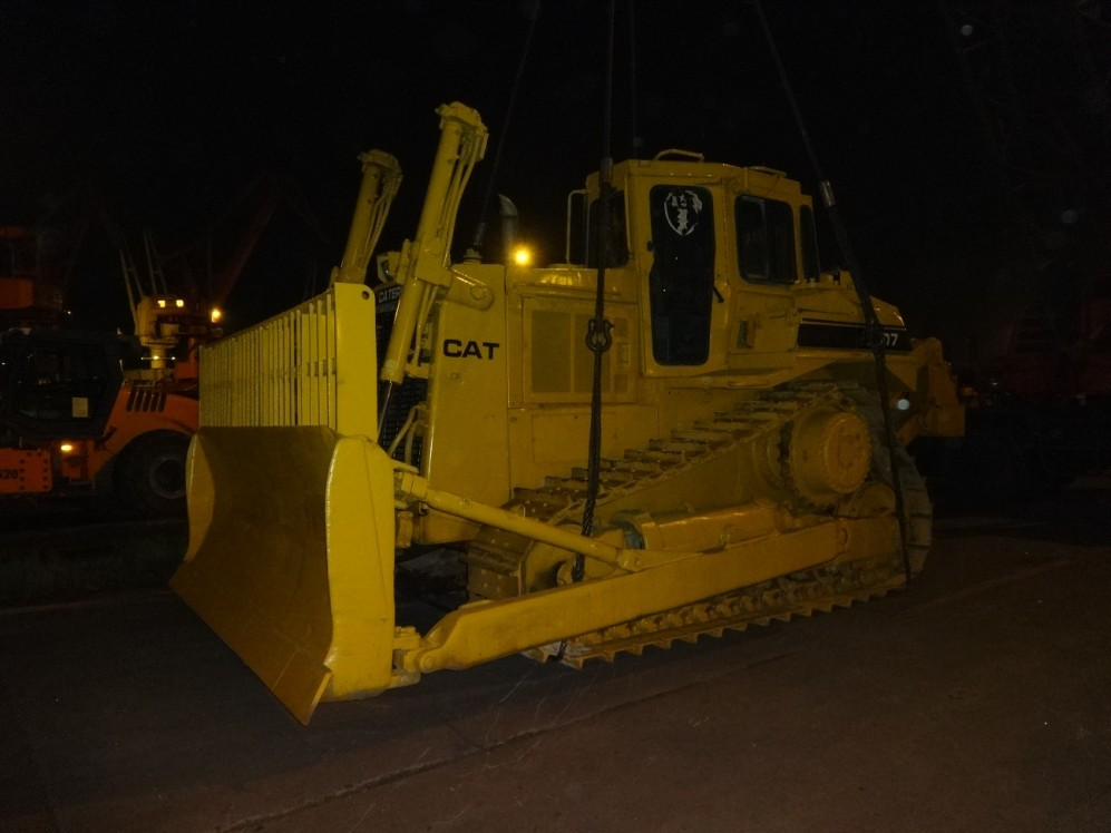 Used Cat D7R Bulldozer Sold out to Cameroun