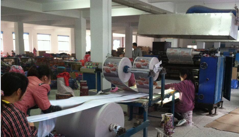 Seamless Bandana----Heat Transfer Printing