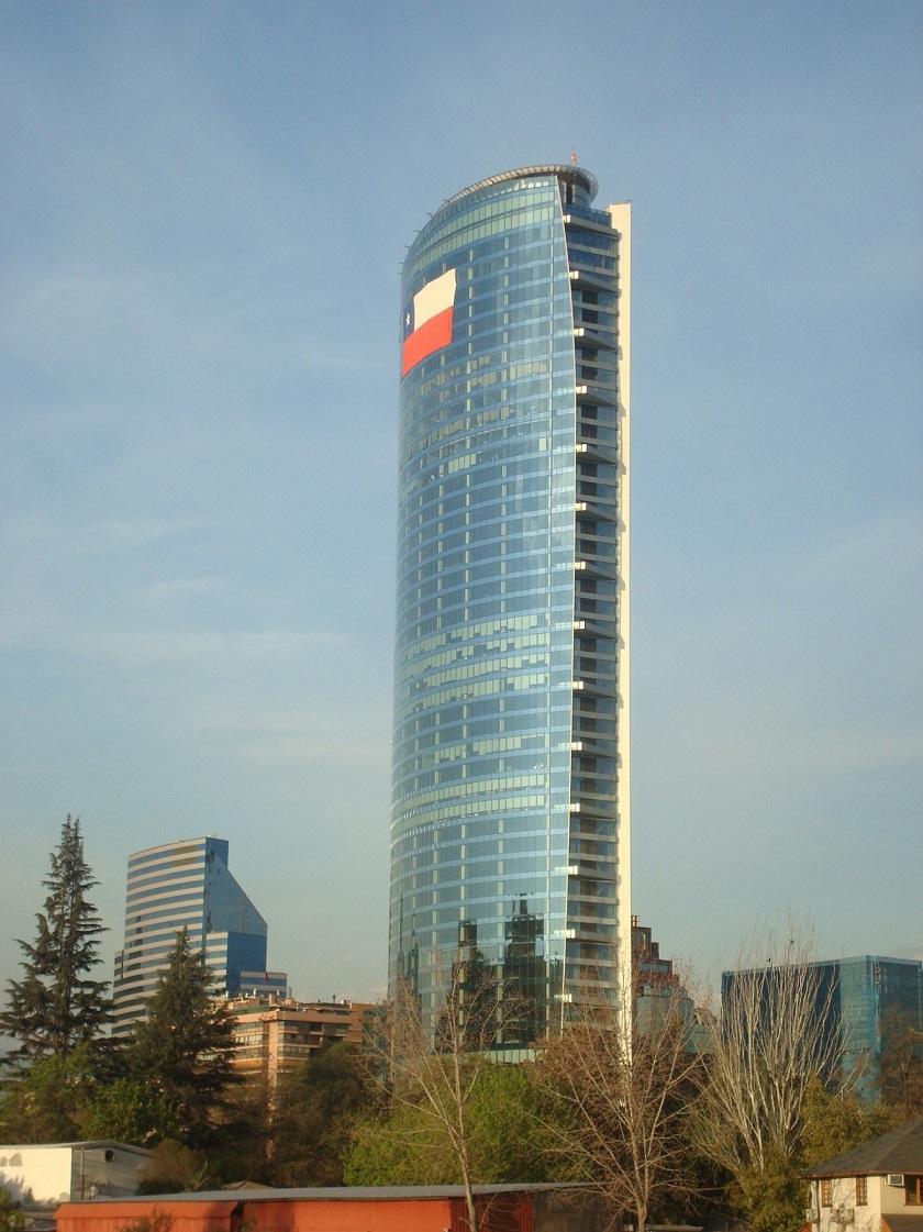 low-e insulating glass Vistas Titanium in Chile