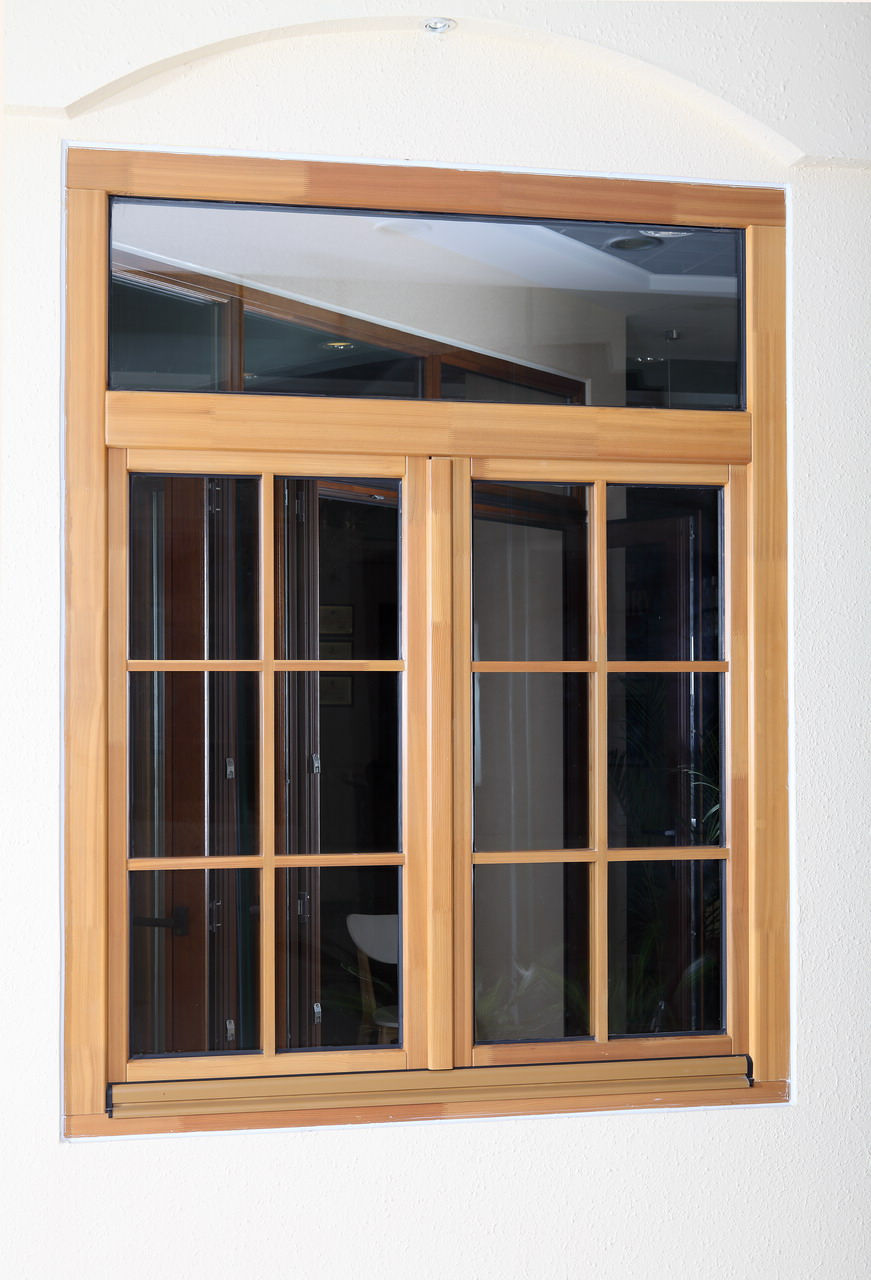 Solid Wood Window Guangzhou Tiansheng Building Material