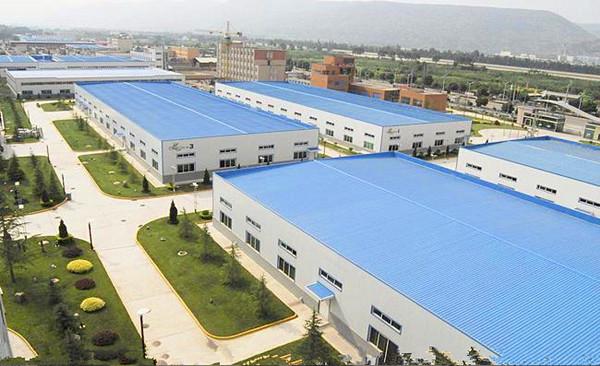 Factory Bird View